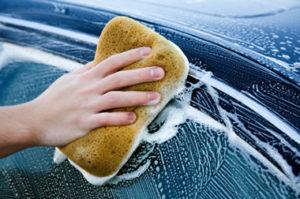 Sponge Car Wash