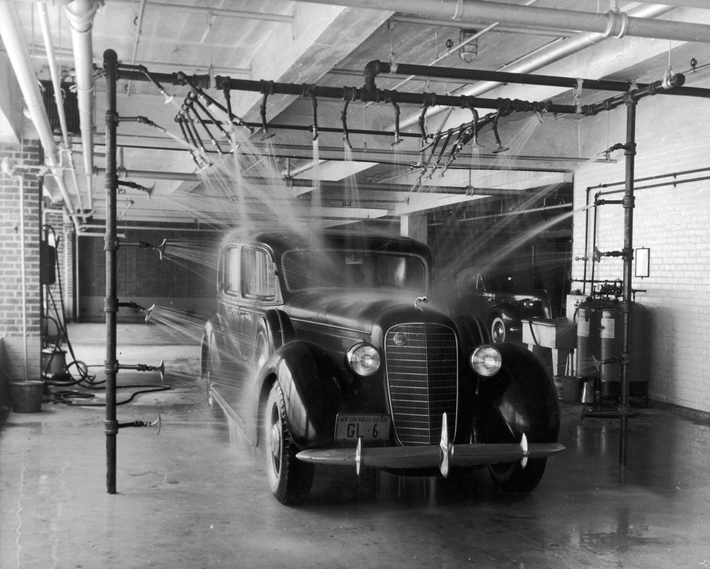 A Brief History Of The Car Wash